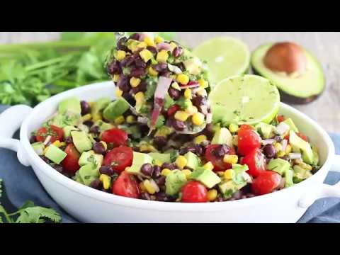 Avocado Black Bean & Corn Salad