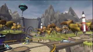 Ratchet & Clank 2 - Planète Todano, Armurerie MégaCorp : Apporte la statuette à l