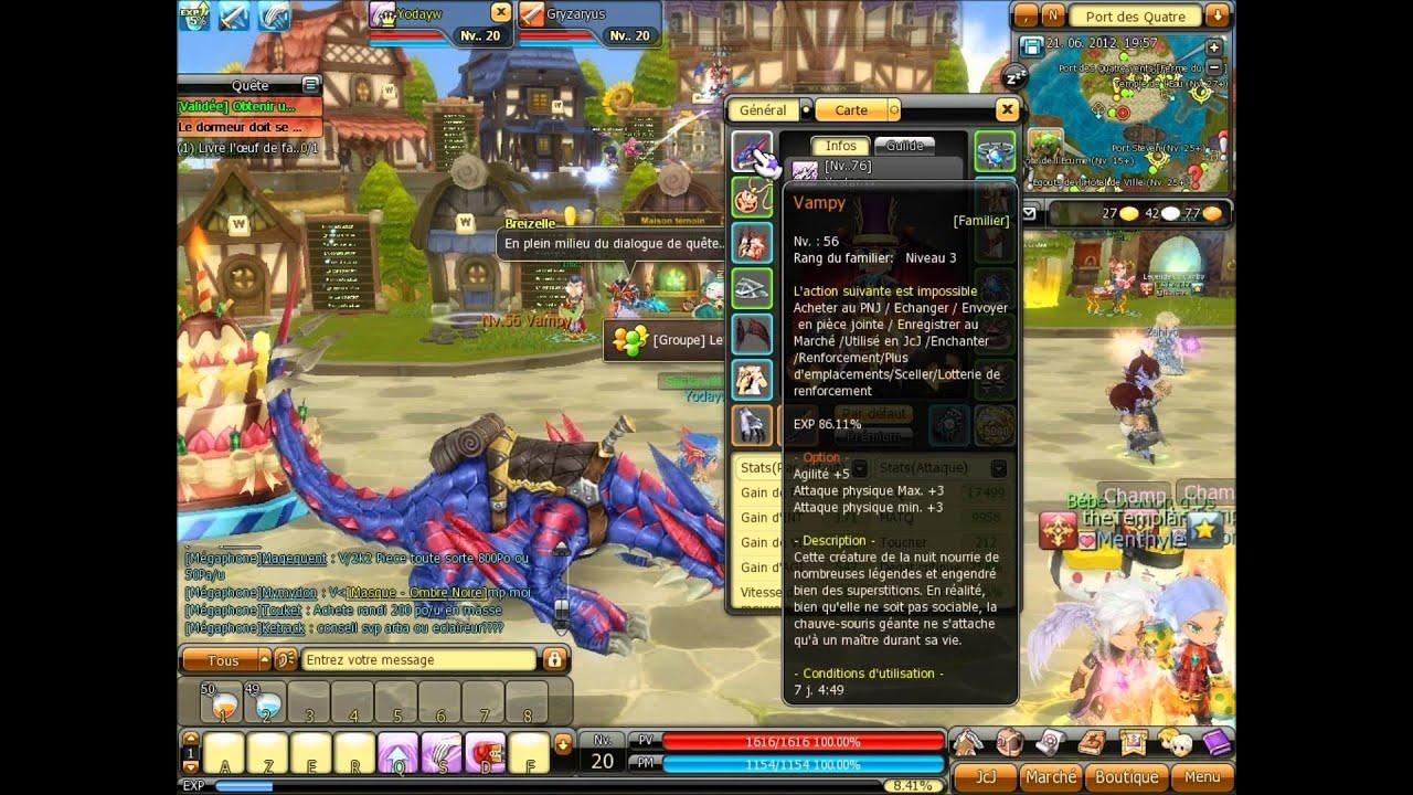 le jeu dragonica