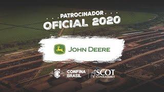 John Deere - Patrocinador oficial do Confina Brasil 2020