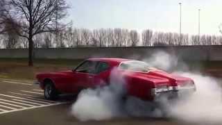 buick Riviera boattail 1972 burnout