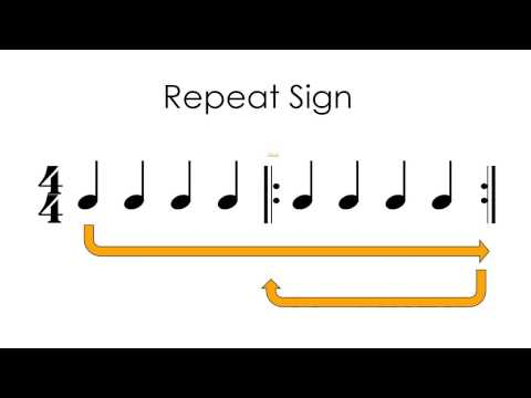 Understanding the Repeat Sign in Music Notation