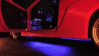 eBoTrade-Tech 7 Color LED Under Car Glow Underbody System Neon Lights Kit 48