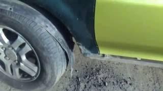 Кузовной ремонт Хонды H-RV бабының 3-бөлігі, немесе басқалар пластикалық сәуле шектен