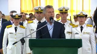 Ceremonia de egreso de la 75° promoción de oficiales de Gendarmería