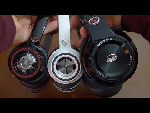 NEW Revised 2013 Monster N Tune NCredible Headphones