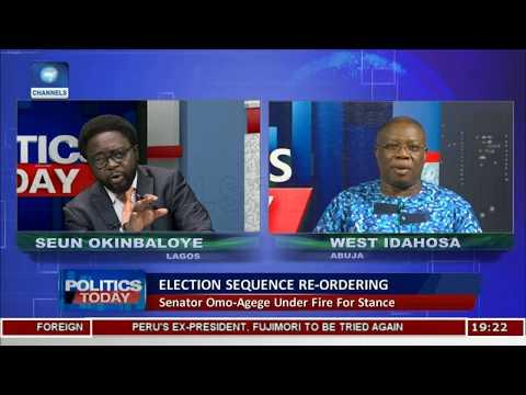 Senator Omo-Agege Under Fire For Stance Pt.1 |Politics Today|