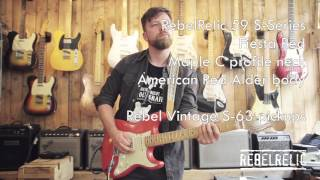 59 S Series Fiesta Red | RebelRelic Guitar Showcase