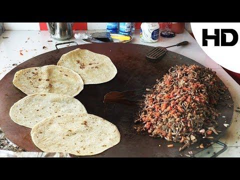 اكلات الشوارع حول العالم - كبدة بالطريقة التركية - Street food by Turkish way