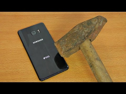 Samsung Galaxy Note 7 Hammer & Knife Test!