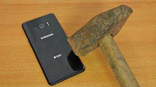Samsung Galaxy Note 7 Hammer & Knife Test!