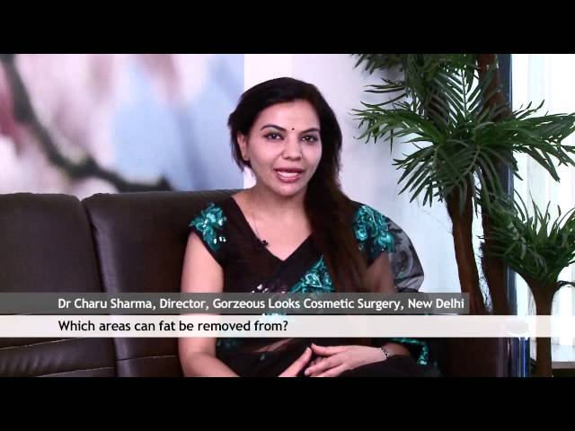 Dr. Charu Sharma Cosmetic surgeon is talking about Fat remove
