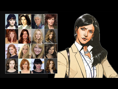 Comparing The Voices - Lois Lane