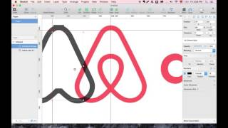 Gambar cover Create a symmetrical airbnb logo in Sketch App.
