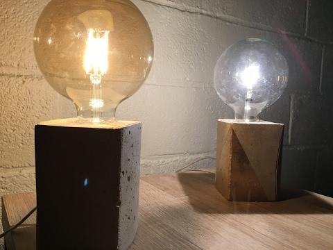 Béton Brique De Fabriquer Avec Jus D'orange Lampe Comment Une n0NXZwk8OP
