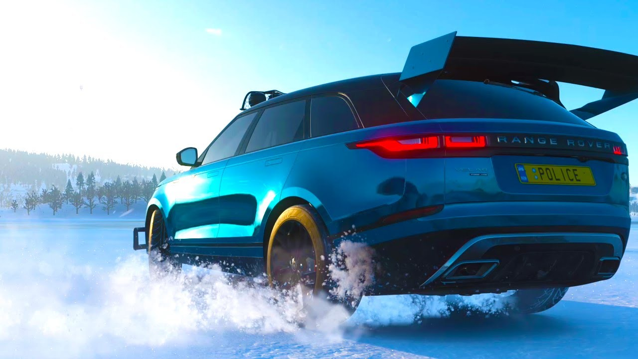 Land Rover The Ultimate Offroad Velar - Forza Horizon 4 | X Box gameplay