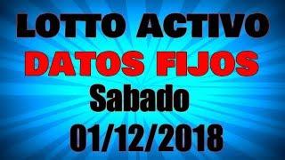 Sabado 01/12/18 Activo Datos Lotto Datos Fijos Para Mañana Datos De Animalitos Fijos Para Hoy