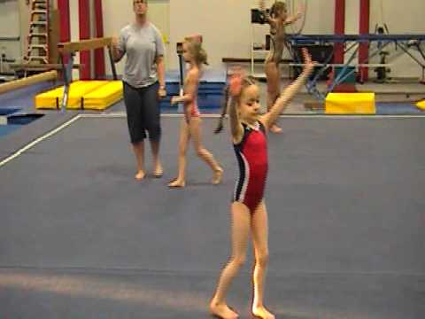 7 year old Rachel starts OPTIONALS!