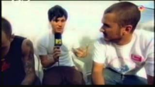 Rare Blink 182 Interview Backstage At Reading Festival 2003 1 2