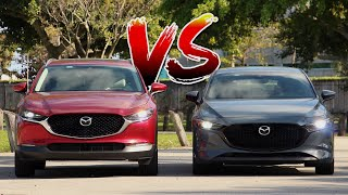 Mazda CX-30 Vs Mazda3 Hatchback: What Are The Differences?