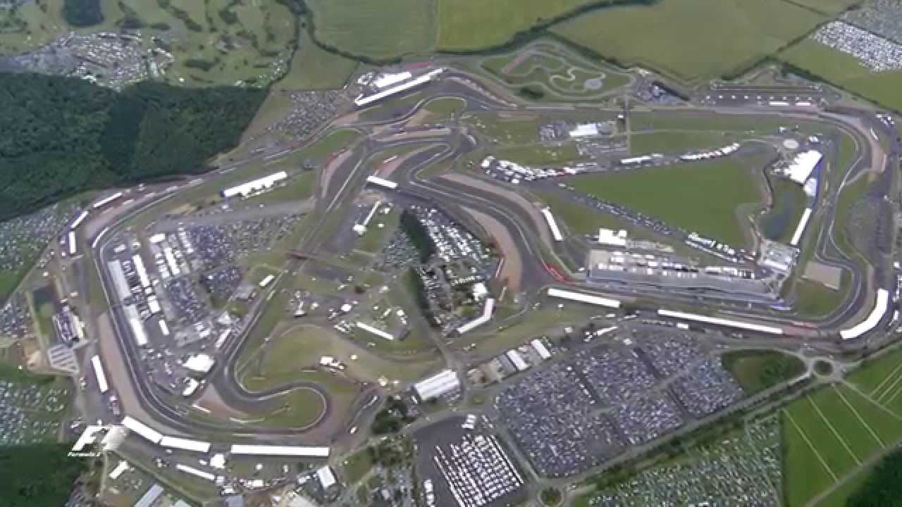 Silverstone: The View From The Sky - YouTube