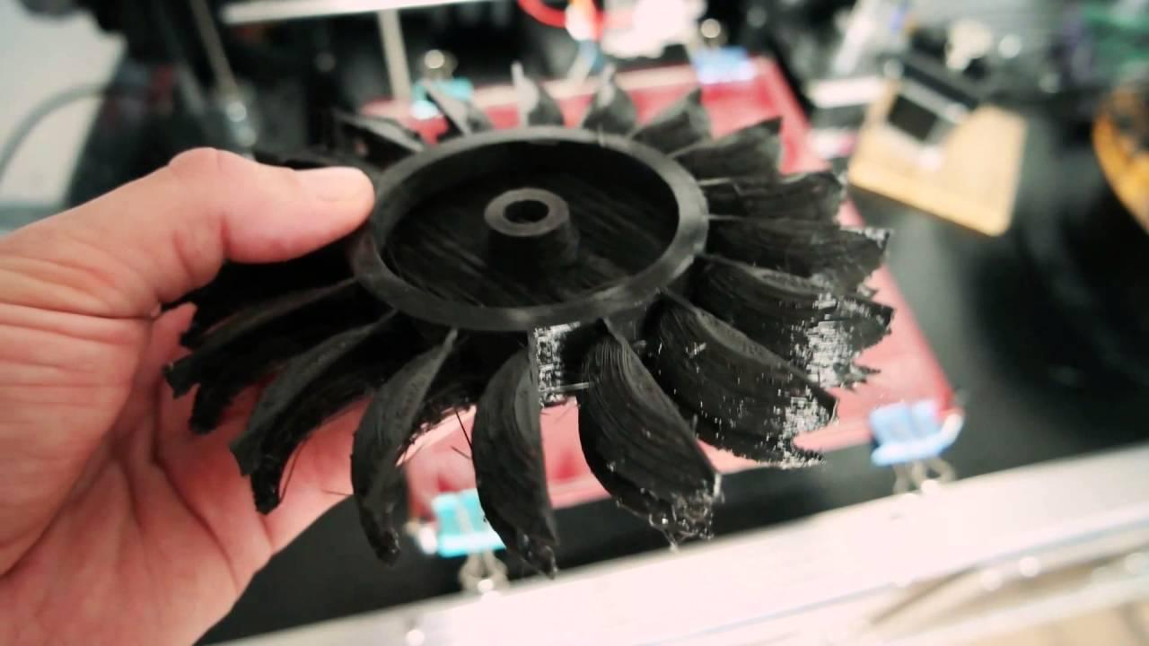 3d printed Pelton turbine