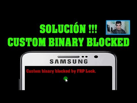 Solucionar Custom Binary Blocked By FRP Lock