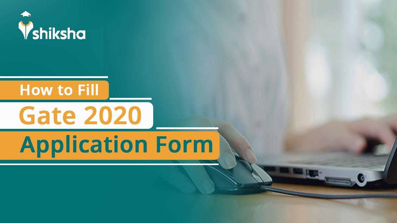 GATE 2020 Registration (Started): Fill Online Application