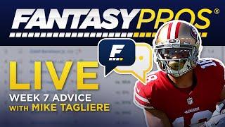 Live Week 7 Fantasy Football Q&A (2019)