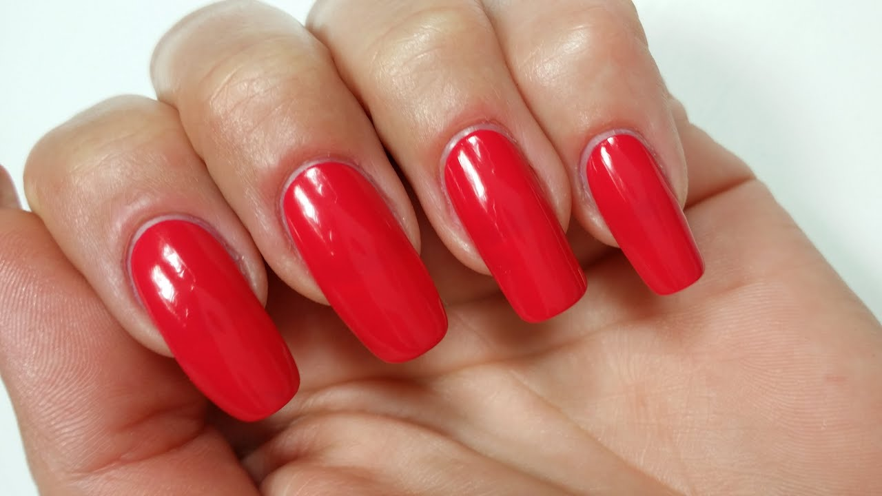 How to get perfect painted nails