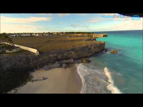 Aerial Footage Of Bottom Bay, Barbados