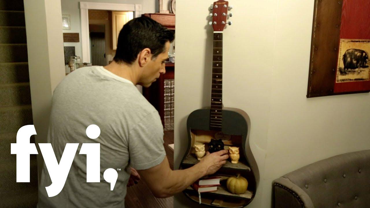 diy guitar shelf tutorial downtown shabby fyi with loop