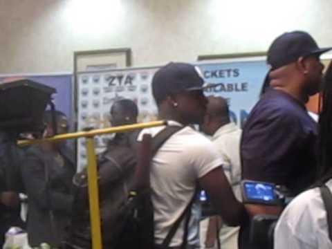 Akon Zimbabwe Press Conference