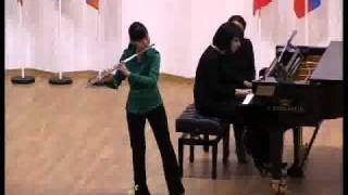 Frederick II the Great, flute sonata XI (D-minor), Pak Di Na, 13 y.o.