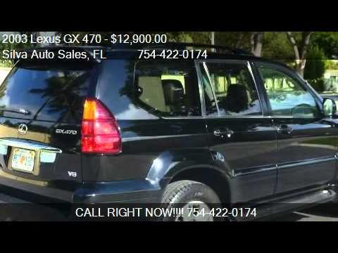2003 Lexus GX 470 Sport Utility - for sale in Pompano Beach,