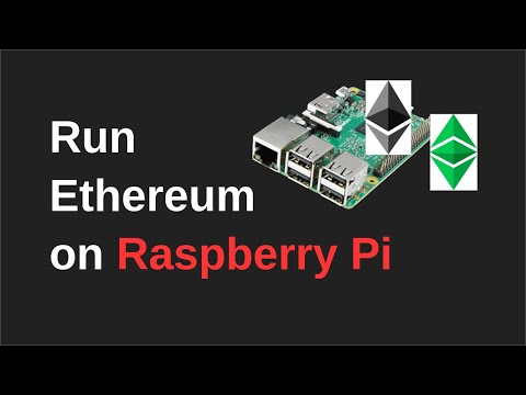 How To Setup An Ethereum Node On Raspberry Pi