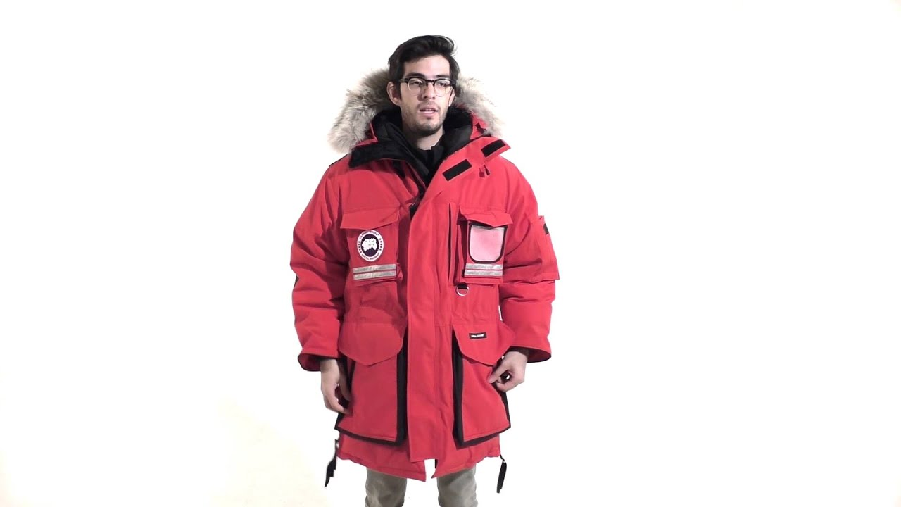Men's snow mantra parka