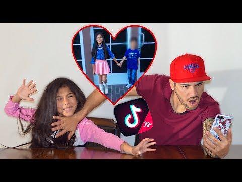 REACTING TO MY 9 YEAR OLD DAUGHTERS TIK TOKS! *Gone Wrong* | Familia Diamond