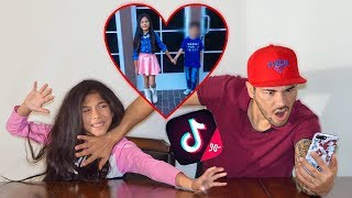 reacting-to-my-9-year-old-daughter-s-tik-toks-gone-wrong-familia-diamond