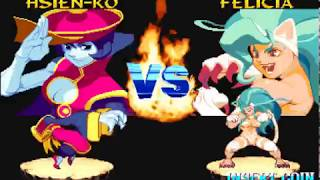 Arcade Longplay [775] Night Warriors: DarkStalkers Revenge