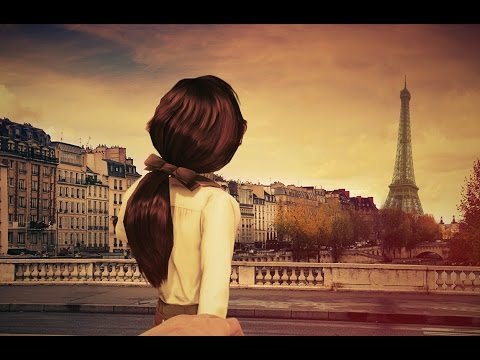 Under Paris Skies! (The Paris Musette) (Lyrics) (1957) Beautiful & Romantic 4K Music Video!
