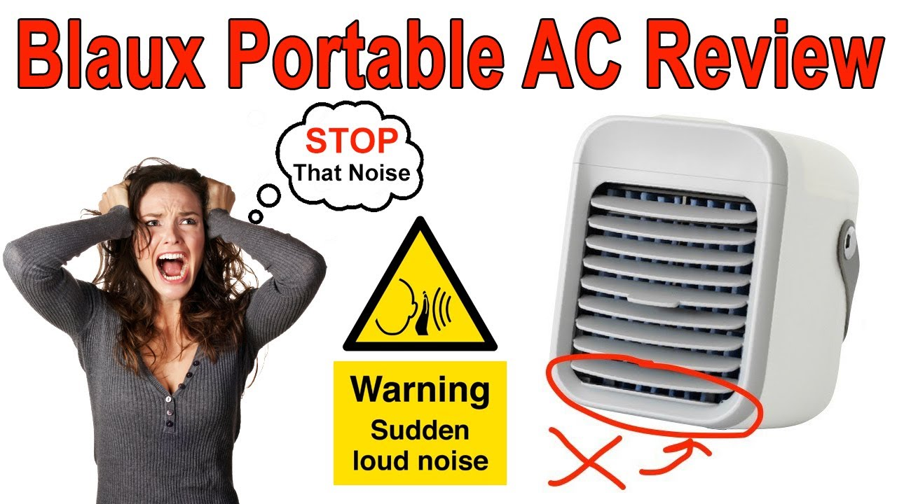 Blaux Portable AC Review - How does Blaux Work? SCAM ...