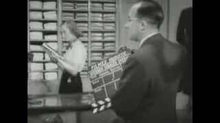 Op de set nieuwe Nederlandse speelfilm (1952)