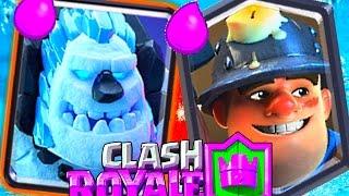 clash royale ice golem cycle deck