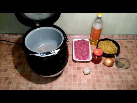 «как приготовить макароны с печенью в мультиварке polaris 0527d