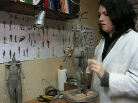 CLASES DE ANATOMIA ARTISTICA MADRID TALLER DE ESCULTURA - YouTube