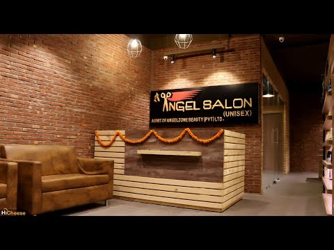 Beauty Salon & Spa Interior Design - ANGEL - Moradabad, UP,