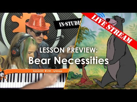 Bare Necessities - Kids' Lesson Preview