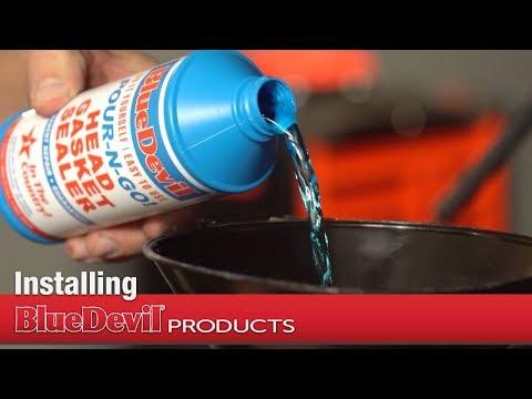 How to Install BlueDevil Pour-N-Go Head Gasket Sealer