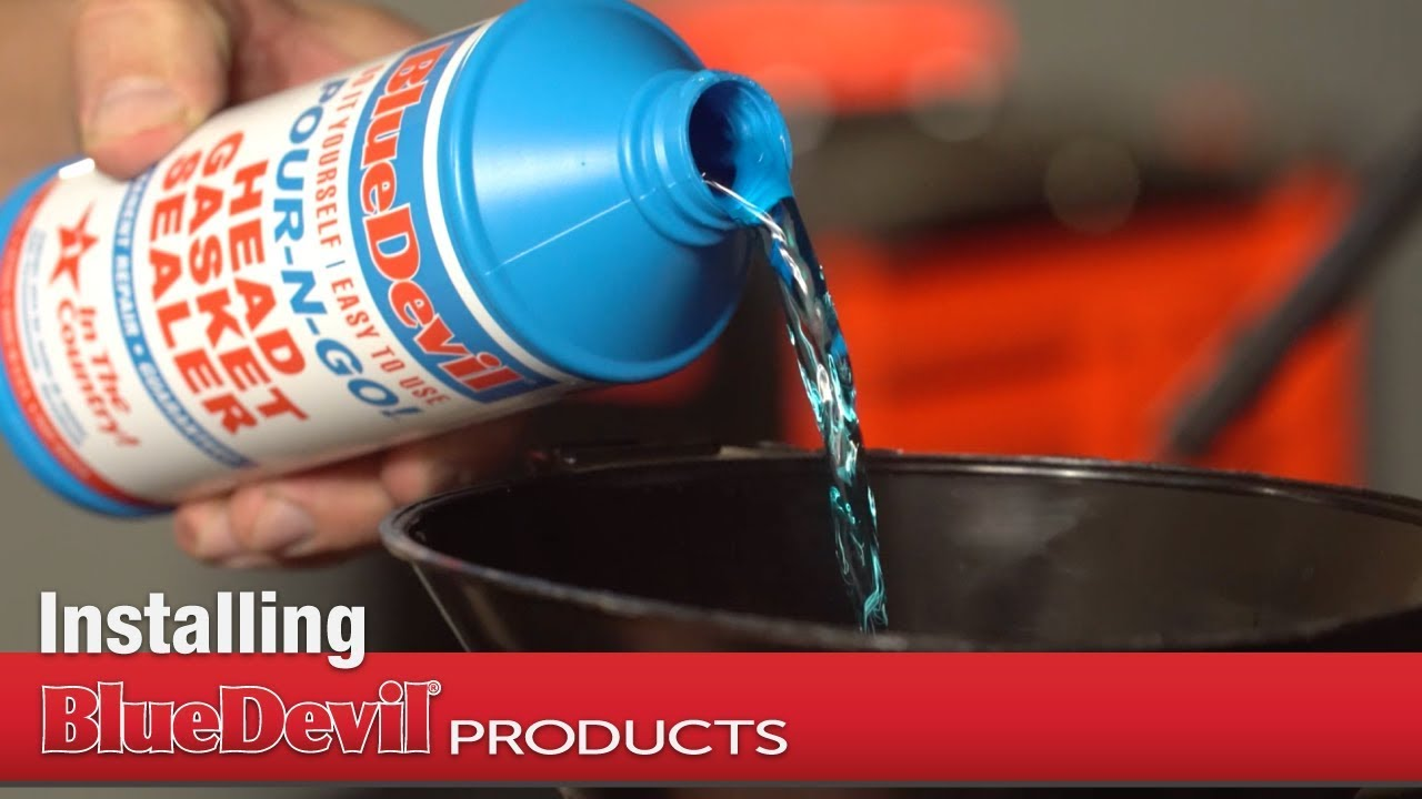 How to Install BlueDevil Pour-N-Go Head Gasket Sealer